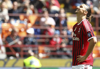 AC Milan's dropped points in must-win games have cost them.