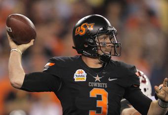 Browns' Selection Brandon Weeden