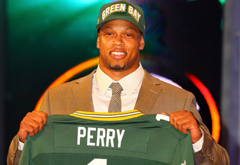 Packers' Selection Nick Perry