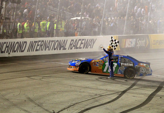 Kyle Busch is a three-time winner at Richmond