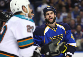 Will playoff history help No. 2 seed Blues?