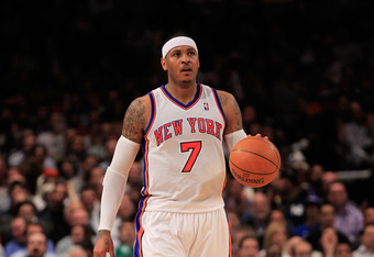 Can 'Melo get Knicks first playoff win since 2001?