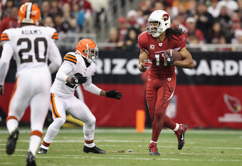Who would Larry Fitzgerald rather have throwing to him?