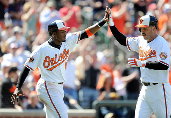 Adam Jones is on the verge of a breakout season.