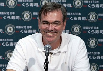 Billy Beane, GM of the Oakland Athletics