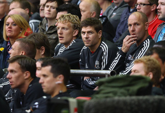 Kuyt has often found himself on the bench this season.