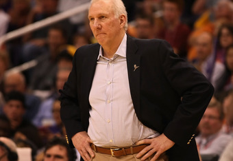 Spurs head coach Gregg Popovich knows that defense and NBA Championships are usually linked.