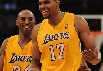 Kobe knows that Andrew Bynum holds the key to more championship rings