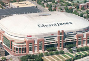Edward Jones Dome- St. Louis, MO