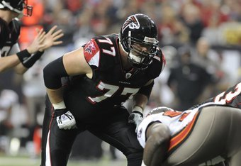If Atlanta can't find a fixture at left tackle, eight-year veteran Tyson Clabo could possibly shift over from the right side.