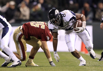 Nevada LB James-Michael Johnson could take the starting strong-side spot and Gocong could stay at his natural position on the weak side