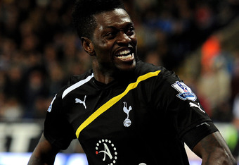 Adebayor's ghost is alive and tormenting Arsenal.