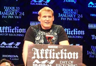 MMA heavyweight Josh Barnett is blamed for bringing down Affliction's whole business operation by failing a pre-fight drug test.