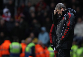 Hodgson was continuesly frustrated at Liverpool