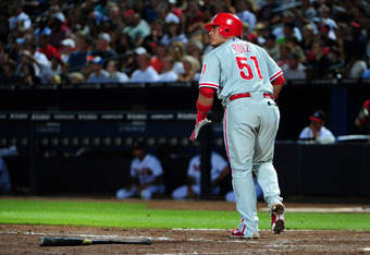 Ruiz's three-run homer gave the Phillies a 9-8 lead