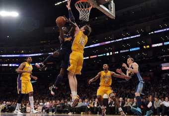 Lakers Have Defended well in the paint - Pau Gasol and Andrew Bynum are the Twin Towers