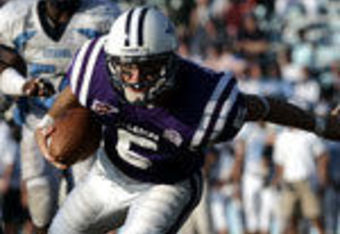 Patrick Sprague Sets Furman all-time single receiving mark against the Bulldogs in 2007