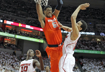 Fab Melo is the best defensive center in the Draft.