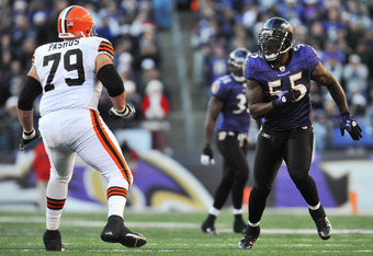 Suggs has been quite successful when meeting the Cleveland Browns