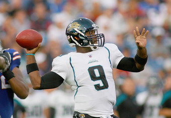 David Garrard missed all of 2011 but hopes to launch himself back into a starting quarterback role in Miami.