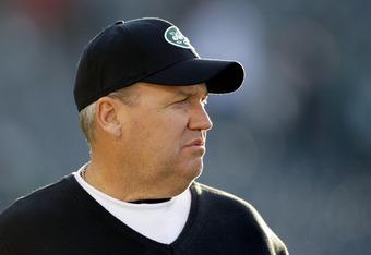 Jets head coach Rex Ryan.
