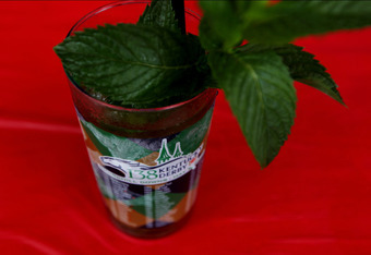 LOUISVILLE, KY - MAY 05:  A mint julep is seen during the 138th running of the Kentucky Derby at Churchill Downs on May 5, 2012 in Louisville, Kentucky.  (Photo by Jamie Squire/Getty Images)
