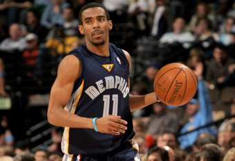 Conley as a rookie.