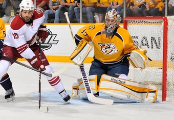 The Coyotes hope to make things uncomfortable for Pekka Rinne.