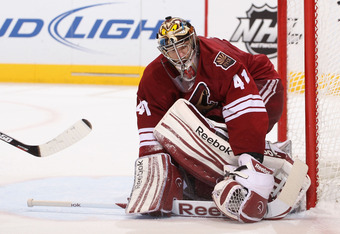 Mike Smith has been a principal reason for the Coyotes success.