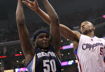 Zach Randolph and the Grizzlies are nearly as deep as the Spurs in the front court.