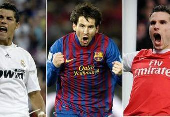 The expected three finalists for the 2012 FIFA Ballon d'Or.