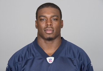 CHICAGO, IL - CIRCA 2011: In this handout image provided by the NFL,  JT Thomas of the Chicago Bears poses for his NFL headshot circa 2011 in Chicago, Illinois.  (Photo by NFL via Getty Images)