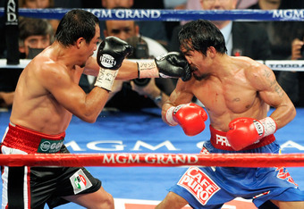 Juan Manuel Marquez showed even Manny Pacquiao can be beat to the punch in their third fight last November at the MGM Grand.