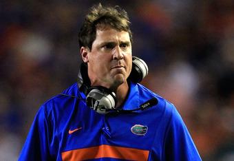 Florida head coach Will Muschamp
