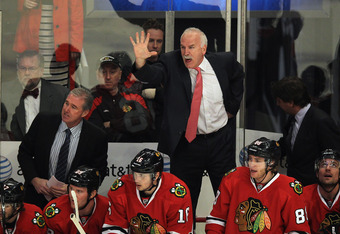 Joel Quenneville did not hire Mike Haviland, but he has dismissed the long-time employee of the organization.