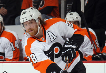 With The Absence of Richards and Carter Allowing More Ice Time Giroux Became a Superstar
