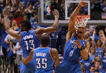 The Thunder have momentum on their side more than any team in the NBA