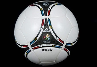 Here's the regular Euro 2012 match ball, the Tango 12. Photo: Sportsfile