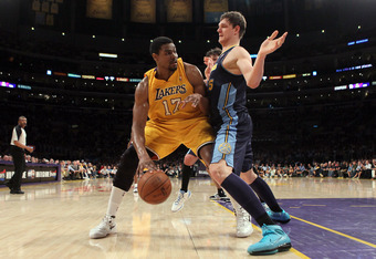 Andrew Bynum acknowledged his sluggish play in closeout game against Denver