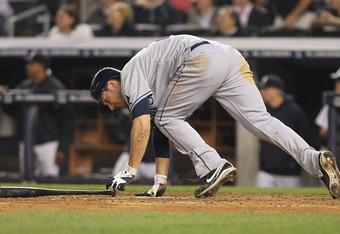 Matt Joyce tested out a new home run trot last night.