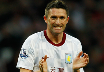 TOP GUN: Robbie Keane is Ireland's most famous player, but the aging striker might be better used in midfield