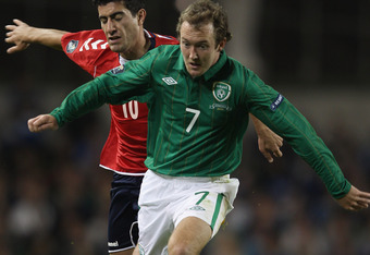 Wing Wizard: Aiden McGeady is as good as Ronaldo on his day.