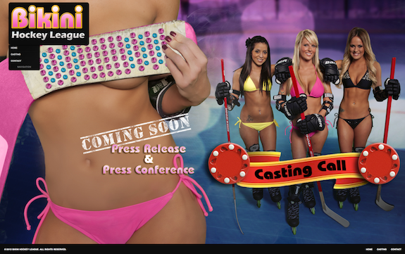 However, don't you dare compare this to the Lingerie Football League.