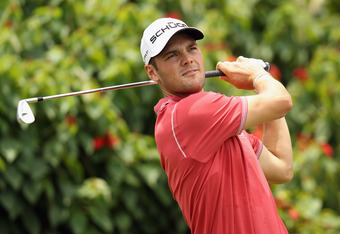KUALA LUMPUR, MALAYSIA - APRIL 11:  Martin Kaymer of Germany in action during the Pro-Am ahead of the Maybank Malaysian Open at Kuala Lumpur Golf & Country Club on April 11, 2012 in Kuala Lumpur, Malaysia.  (Photo by Ian Walton/Getty Images)