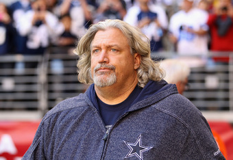 GLENDALE, AZ - DECEMBER 04:  Defensive coordinator Rob Ryan of the Dallas Cowboys before the NFL game against the Arizona Cardinals at the University of Phoenix Stadium on December 4, 2011 in Glendale, Arizona.  The Cardinals defeated the Cowboys 19-13 in