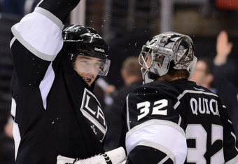 Team captain Dustin Brown and goaltender Jonathan Quick are the two biggest reasons the Kings are in the Conference Final.