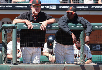 Bruce Bochy and Hensley Meulens - Two Guys On the Hot Seat