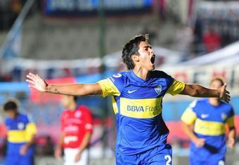 Sergio scores!