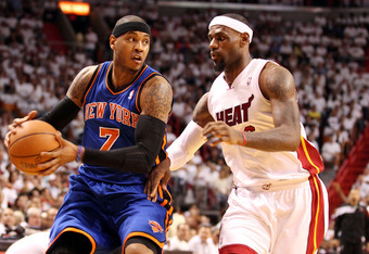 Knicks better with 'Melo handling it less?