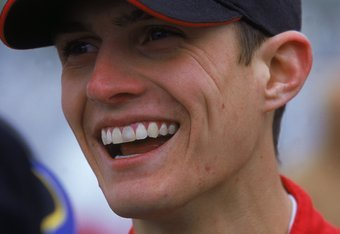 8 Apr 2000:  A close up of Adam Petty who drives for Team Sprint Chevrolet as he smiles and looks on during the Bell South Mobility 320 at the Nashville Speedway USA in Nashville, Tennessee. Mandatory Credit: Robert Laberge  /Allsport